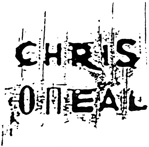 chris o'neal logo design by Chris O'Neal, artist, illustrator and designer