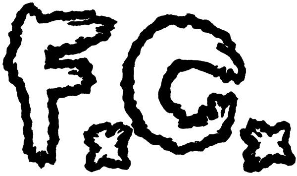 F.C. logo design by Chris O'Neal
